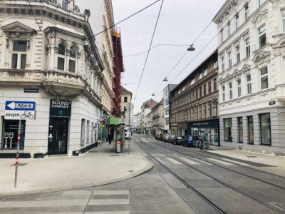 Einbruch leere Straßen